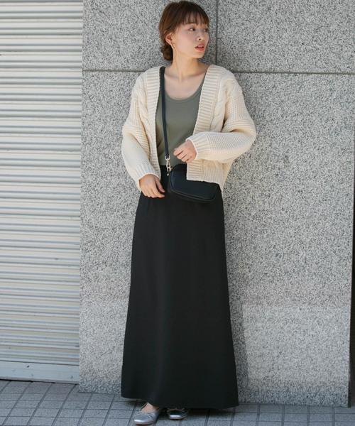 [URBAN RESEARCH] ナローマキシスカート