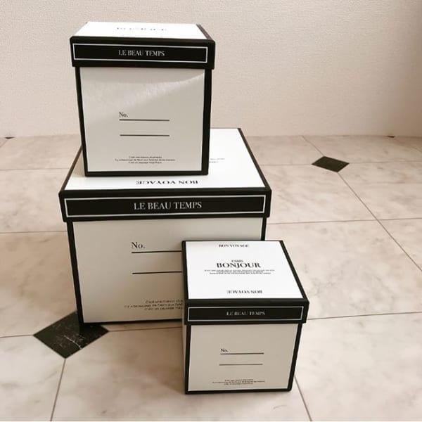 収納に使っても飾ってもおしゃれなペーパーボックス