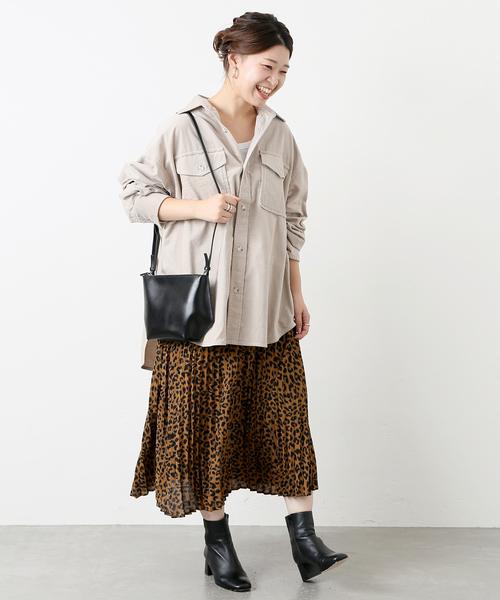 [JOURNAL STANDARD] レオパードプリントスカート