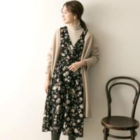 女性らしさを際立たせる♡冬の大人ワンピコーデの着こなし方15選