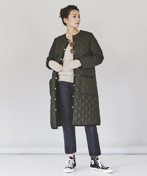 [Curensology] Traditional Weatherwear キルティングコート