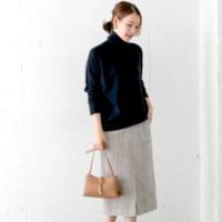 今年の冬はブーツに合わせたい♡大人スカートで作るシンプルコーデ特集