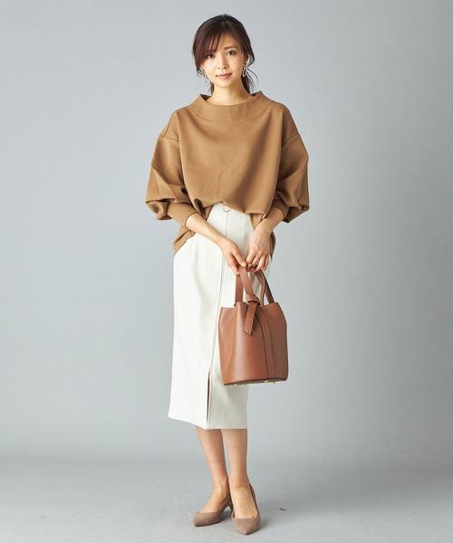 [RIVE DROITE] フロントZIPタイトスカート