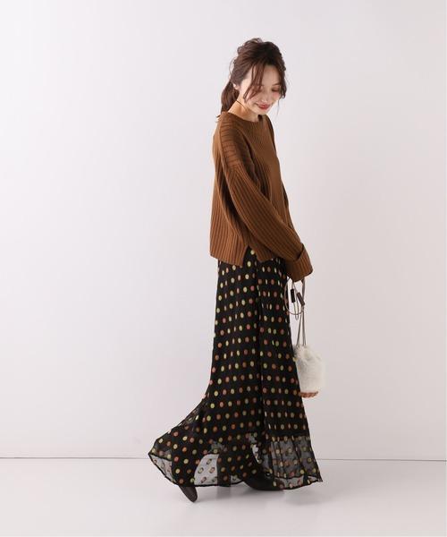 [IENA] 【Deby debo/デビーデボ】 ドットロングスカート