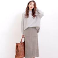 今冬のタイトスカートは長め丈がマスト!トレンドライクな大人のタイトスカートコーデ♡