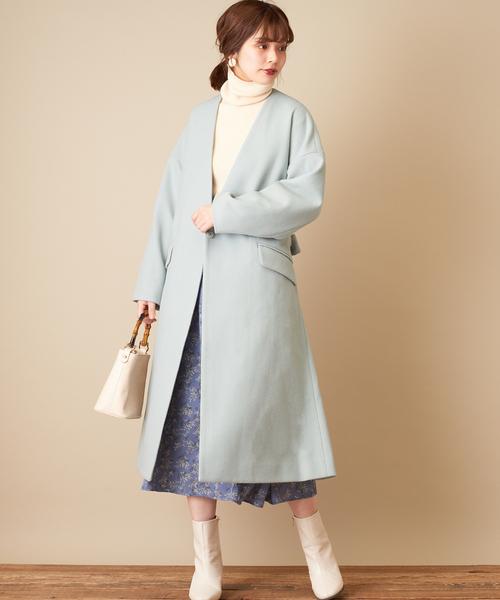 北海道 3月 服装 スカートコーデ