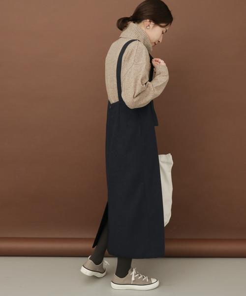 [URBAN RESEARCH DOORS] FORK&SPOON フラノサロペットスカート