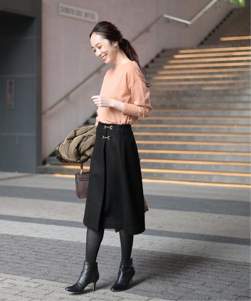 [La TOTALITE] ビットラップスカート◆