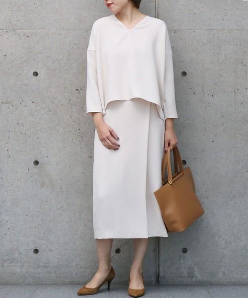 【2020春】白タイトスカートの最新コーデ