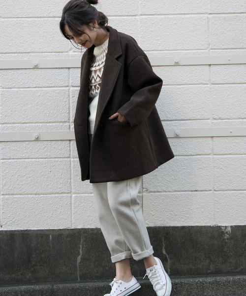 【大阪】3月におすすめの服装:パンツコーデ