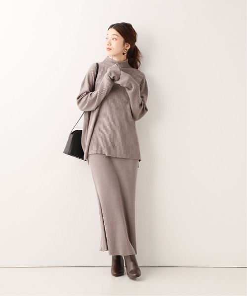 [IENA] ホールガーメントマーメイドニットスカート◆