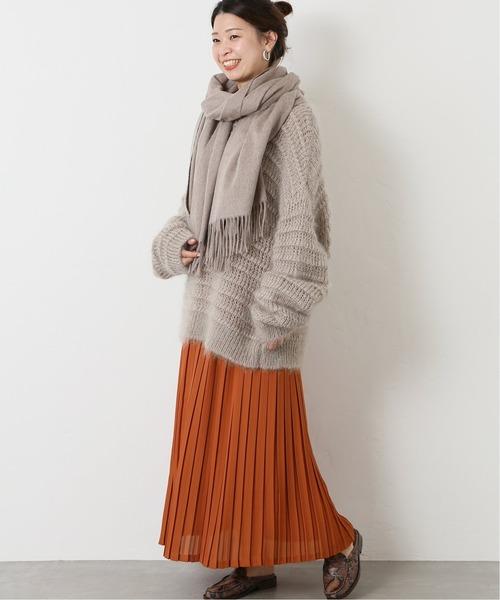 [JOURNAL STANDARD] ボックスプリーツスカート