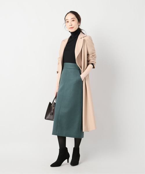 [La TOTALITE] ニットメルトンタイトスカート