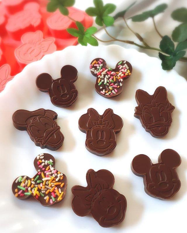 子供 簡単 チョコレートレシピ 型抜きチョコ4