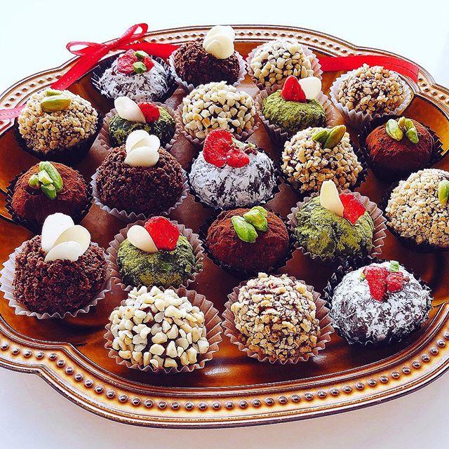 バレンタイン チョコレシピ ボンボンショコラ3