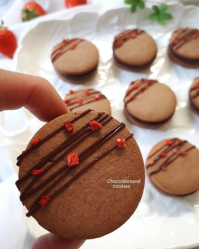 手作りで!生チョコレシピのサンドクッキー