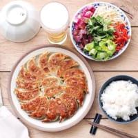 今日の夕飯は《餃子》気分♪おすすめの付け合わせ料理を簡単に作ろう!