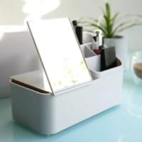毎日のメイクタイムを快適に♪持ち運べる「メイクツール収納ボックス」
