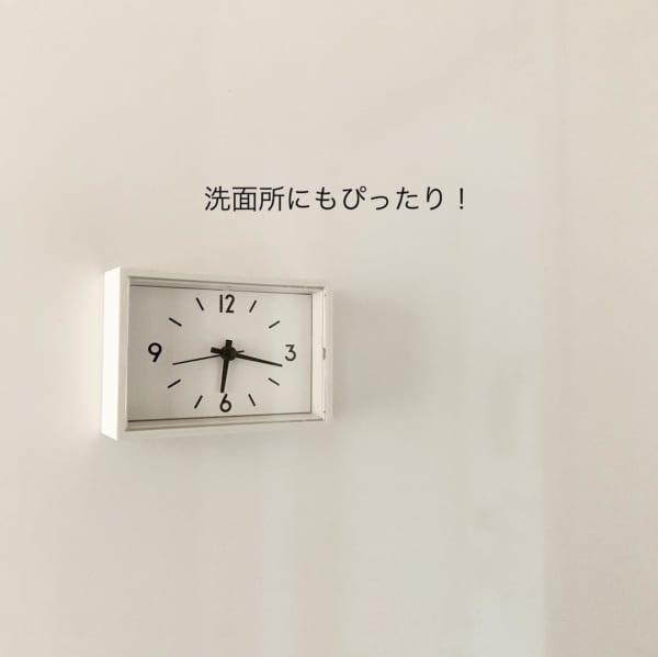 駅の時計・ミニ置時計(マグネットつき)