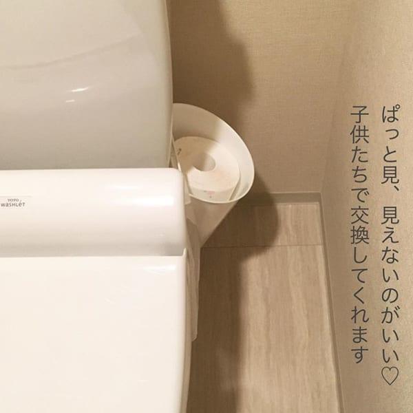 トイレットペーパーの付け替え3
