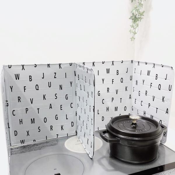 アルファベット柄シリーズのキッチン雑貨