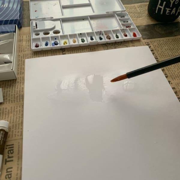 水彩絵の具で遊んでみよう!