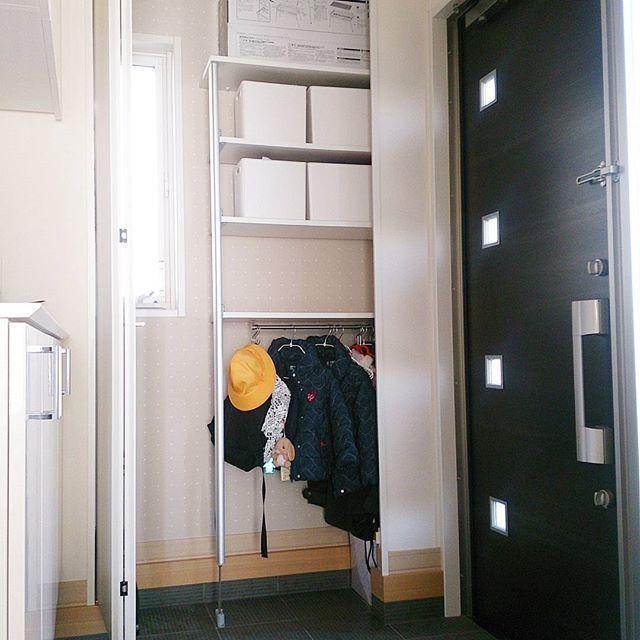 玄関クローゼット収納2