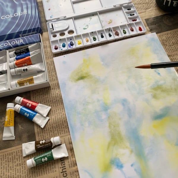水彩絵の具で遊んでみよう!4