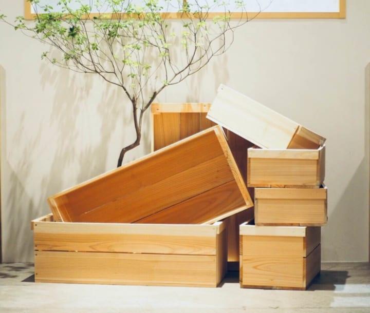 木箱を使ったおしゃれな収納実例12