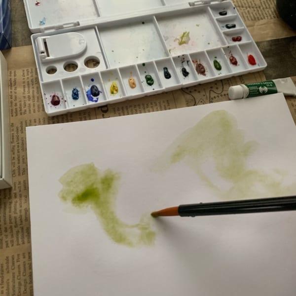 水彩絵の具で遊んでみよう!3