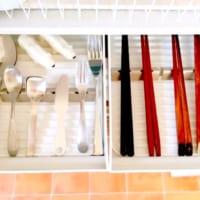 【連載】100均【ナチュラルキッチン】のシンプル箸置きはカトラリー収納にも便利