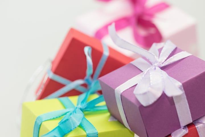 バレンタインのサプライズ:プレゼント