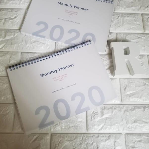 2020年の手帳&カレンダー3