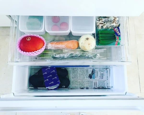 冷蔵庫 野菜室 整理整頓3