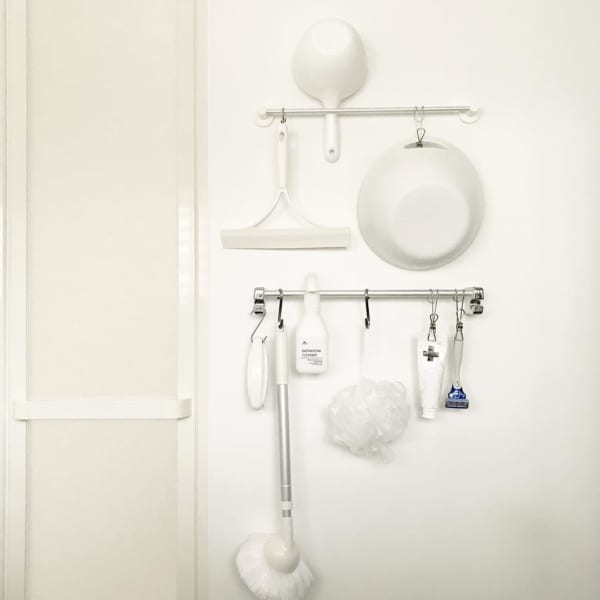 バスルーム 吊るす収納6