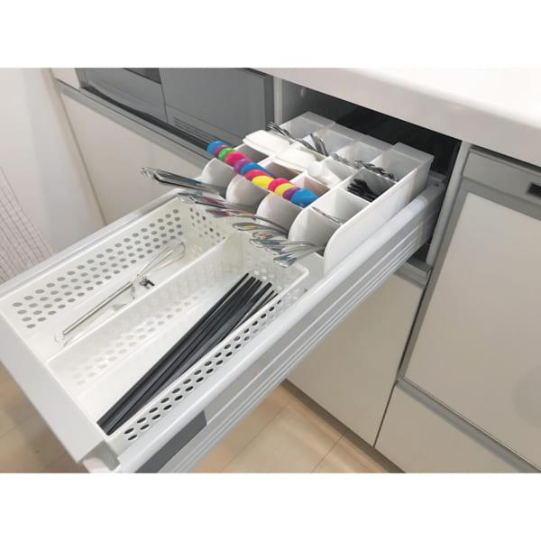 便利で使いやすいキッチン小物収納方法11