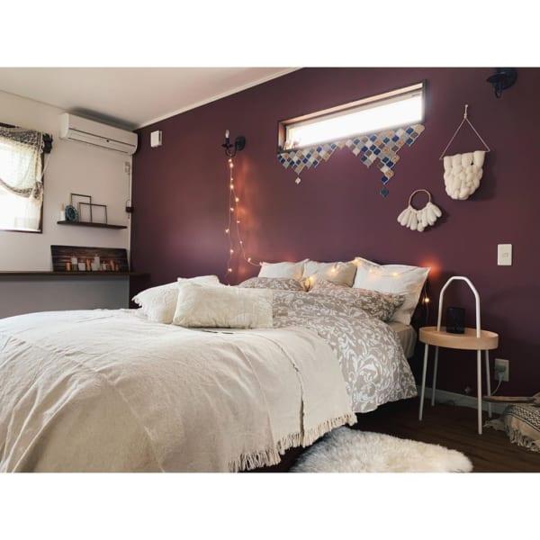 エスニック風 インテリア 寝室2