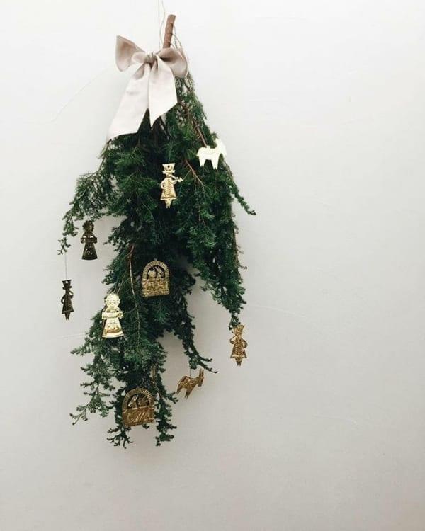 スワッグで楽しむクリスマスデコレーションスワッグで楽しむクリスマスデコレーション