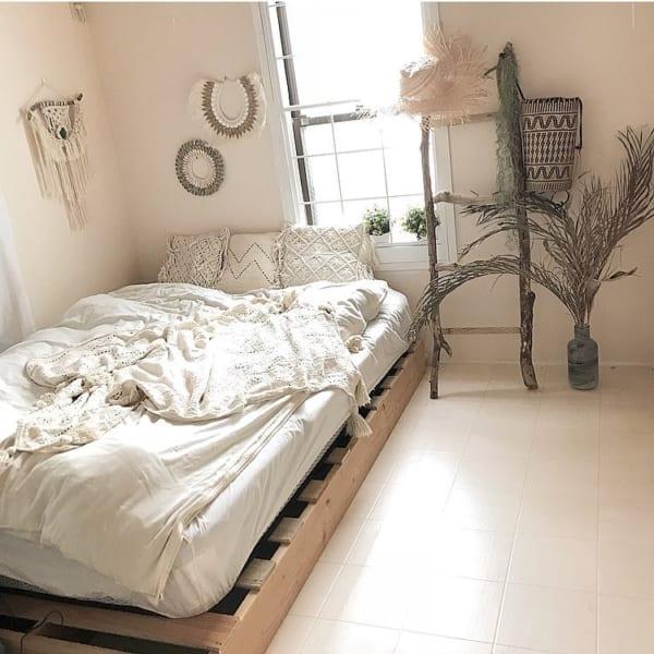 エスニック風 インテリア 寝室5