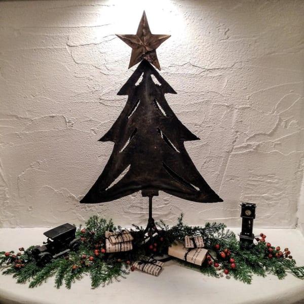 異素材が楽しいクリスマスツリー1