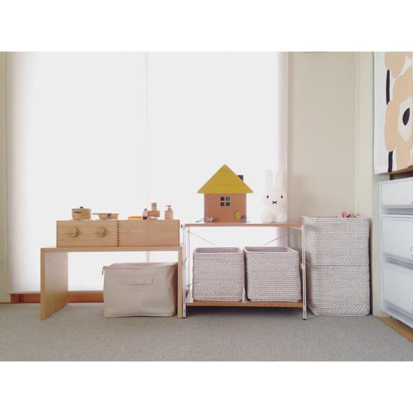 箱を足して和室に合う収納家具にアレンジ