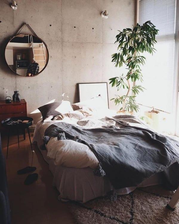 エスニック風 インテリア 寝室6