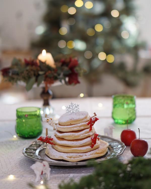 クリスマスのおしゃれなテーブルコーディネート2