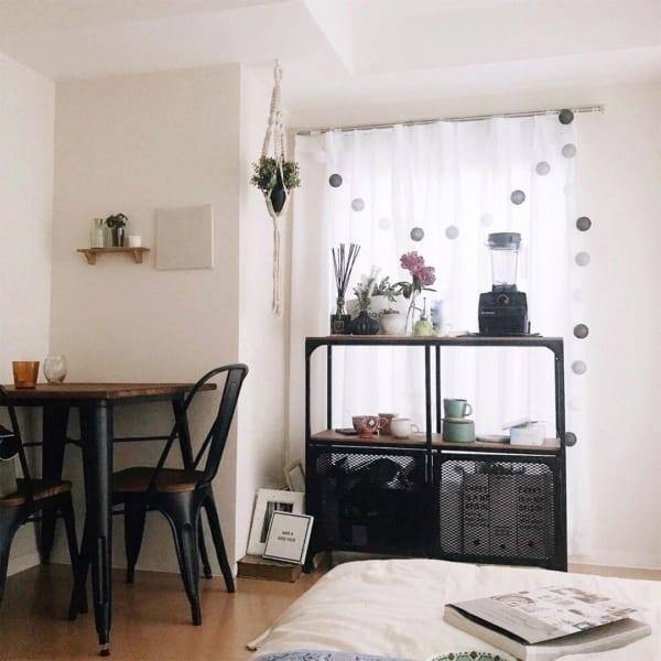 正方形 7畳部屋 レイアウト 家具の配置5