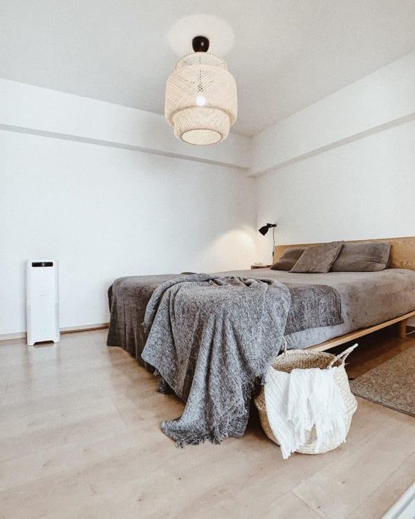 ナチュラルモダンインテリア 寝室2