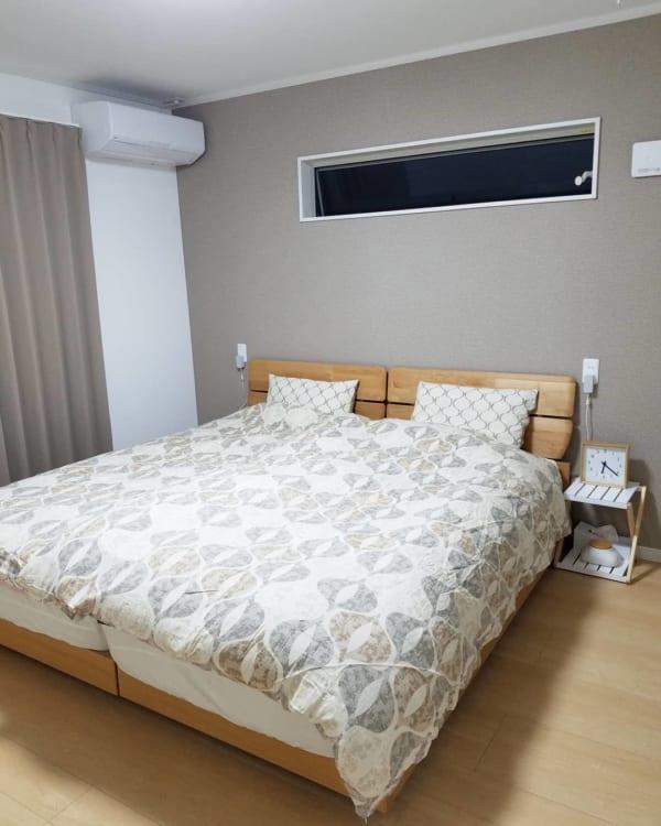 ナチュラルモダンインテリア 寝室3