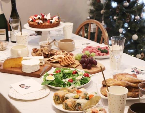 クリスマスのおしゃれなテーブルコーディネート4