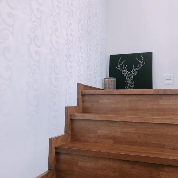 アート おしゃれ 階段・廊下インテリア2