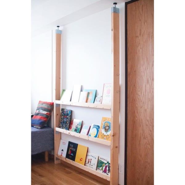 おしゃれな本棚アイディア《リビングルーム》6