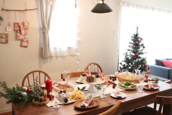 クリスマスのおしゃれなテーブルコーディネート6